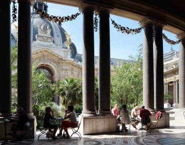 Café : The Jardin du Petit Palais