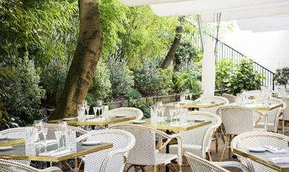 The terrace of Flora Danica