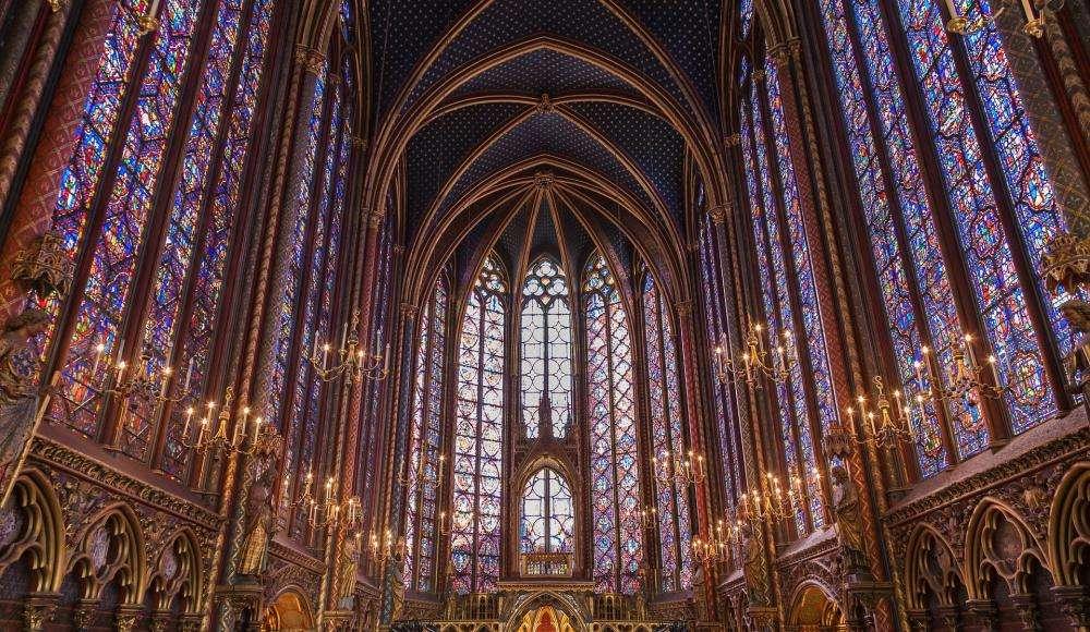 The Sainte Chapelle