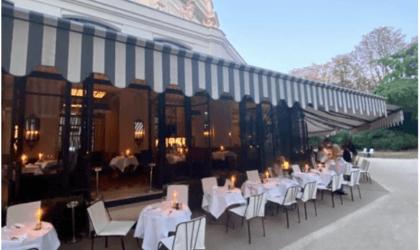 Vite une terrasse !  Le Club Marigny pour déjeuner au vert.