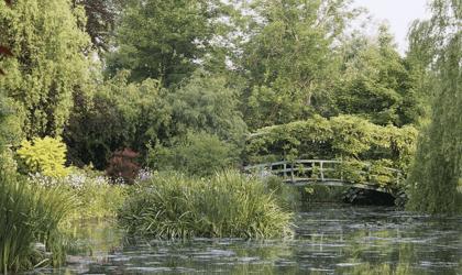 Giverny, le refuge onirique du peintre Claude Monet rouvre au public.