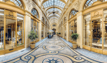 Galerie Vivienne : an offbeat promenade in the Parisian capital