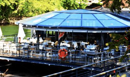 On the River (Café) Seine